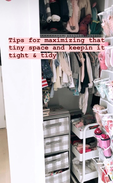 tiny and tidy